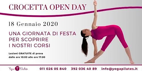 OPEN DAY Pilates Yoga PPM Crocetta