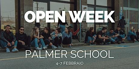 Open Week | Febbraio 2020 | Palmer School biglietti