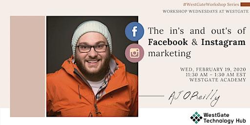 Workshop Wednesdays @WestGate: Marketing Workshop w/ AJ O'Reilly