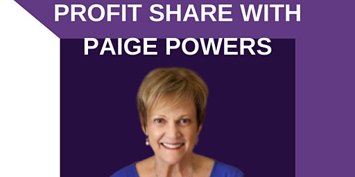 Profit Share with Paige Powers