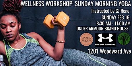 Wellness Workshop: Sunday Morning Yoga tickets