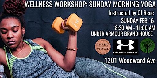 Wellness Workshop: Sunday Morning Yoga