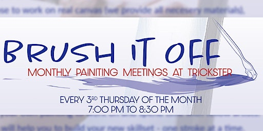 Brush It Off - Monthly Art Classes