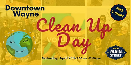 Wayne Community Clean Up Day 2020 tickets