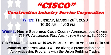 CISCO Union Apprenticeship Information Session tickets