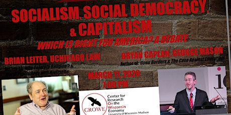 Socialism, Social Democracy, and Capitalism tickets