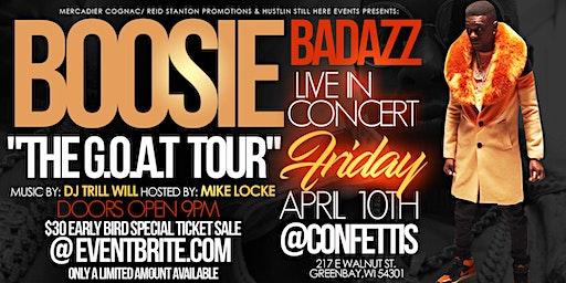 """BOOSIE BADAZZ """"THE G.O.A.T TOUR"""""""