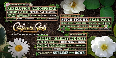 Ice Cube at California Roots Festival tickets