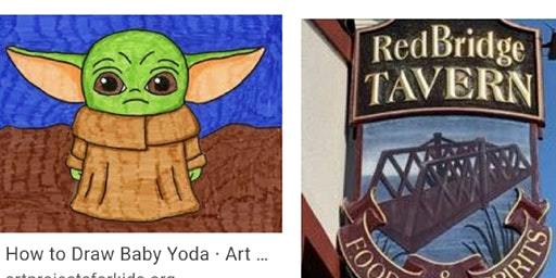 Baby Yoda  All Ages Paint Event/ Rumford RI