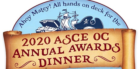 ASCE OC Branch - 2020 Awards Dinner tickets