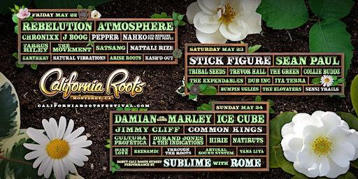 Sean Paul at California Roots Festival