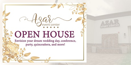 Azar Event Center Open House tickets