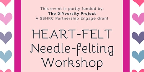 Heart-Felt: Needle-Felting Workshop tickets