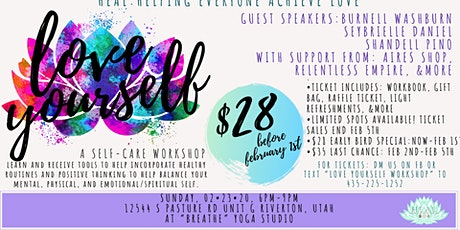 Love Yourself Workshop- By: HEAL tickets