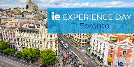 IE Experience Day - Toronto tickets