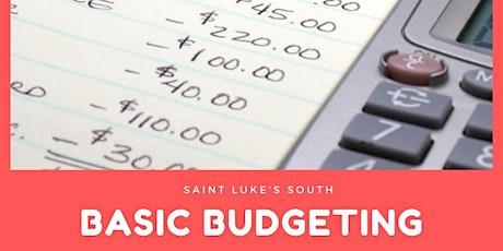 BASIC BUDGETING - SAINT LUKE'S SOUTH tickets