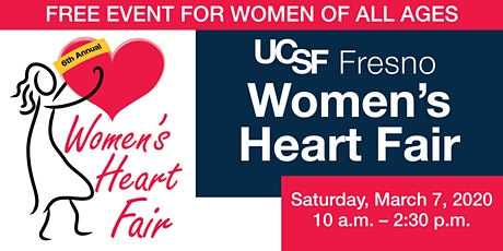UCSF Fresno Women's Heart Fair tickets