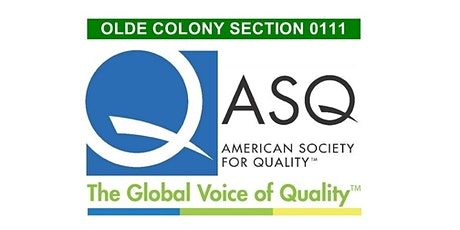 ASQ Olde Colony 02/19/2020 Monthly Meeting and Networking - Mindfulness and the Quality of Life tickets