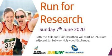 MS Society & Subway 'Run for Research' 10k & Half Marathon tickets