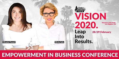 GLOBAL WOMAN EMPOWERMENT IN BUSINESS CONFERENCE - LOS ANGELES tickets