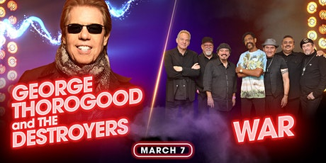 George Thorogood and The Destroyers & War tickets
