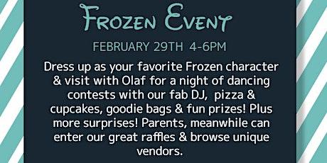 FROZEN Event tickets