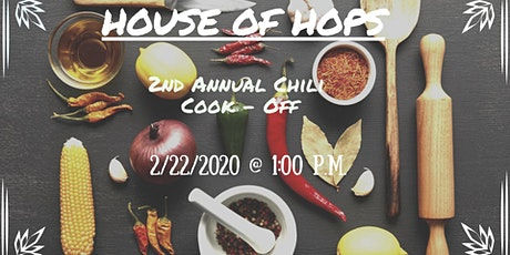 HOUSE OF HOPS McNeil Pointe Chili Cook - Off tickets