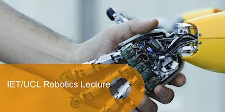 IET/UCL Robotics Lecture: Intelligent Robotic solutions for Industry 4.0., Dr Jelizaveta Konstantinova, Research Coordinator, Ocado Technology tickets