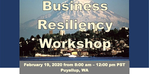Business Resiliency Workshop in Pierce County!