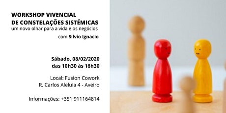 WORKSHOP DE CONSTELAÇÃO SISTÉMICA  PARA PESSOAS E EMPRESAS bilhetes