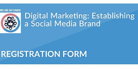 Utah RRC - Digital Marketing: Establishing a Social Media Brand tickets