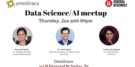 Data Science/AI meetup by Omnitracs tickets