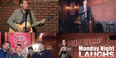 Free Tickets at the World Famous Comic Strip Live -  Standup Comedy tickets