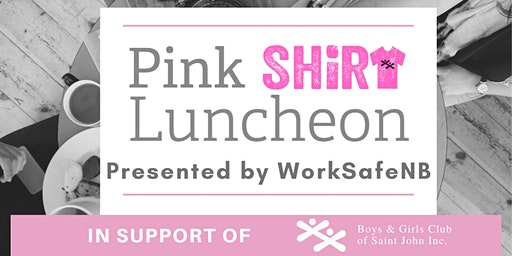 Pink Shirt Luncheon