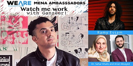 Watch Me Work: Ganzeer, Ramy Essam, and MENA panel/discussion. tickets