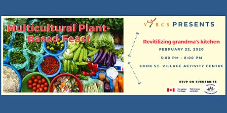 FOR THE LOVE OF FOOD. A Multicultural Plant-Based Potluck tickets