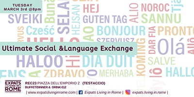 Ultimate Social Language Exchange Aperitivo!