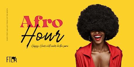 AFRO HOUR DMV : FOOD | HAPPY HOUR | AFROBEATS | HIP HOP | SOCA | REGGAE tickets