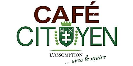 Café-citoyen avec le maire billets