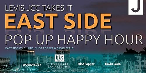 Levis JCC East Side: Pop Up Happy Hour - Wednesday, April 1st