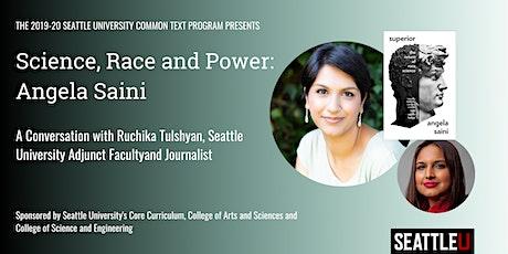 Science, Race, and Power: Angela Saini tickets