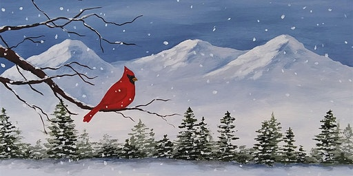 Mountain Cardinal Canvas Workshop