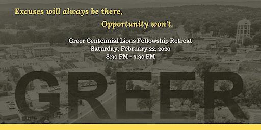 Greer Centennial Lions Fellowship Retreat