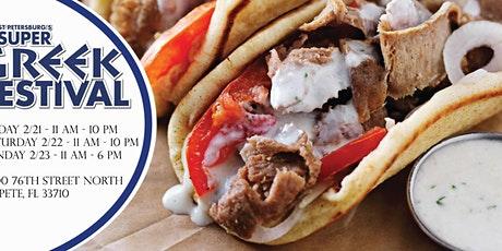 St. Pete Super Greek Fest and Street Food Fair tickets