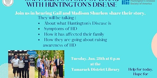 One Family's Story of Living with Huntington's Disease