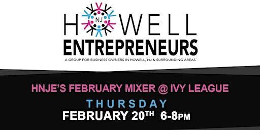 Howell NJ Entrepreneurs February Mixer