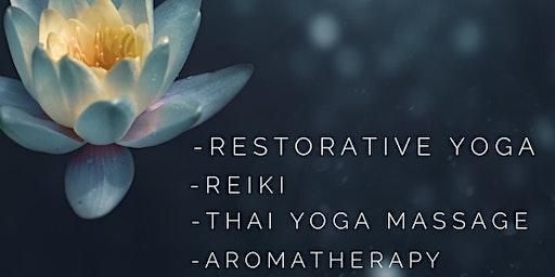 Reiki & Restorative Yoga