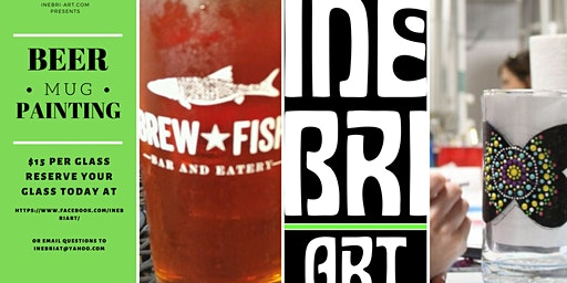 Beer Mug Painting At Brew Fish