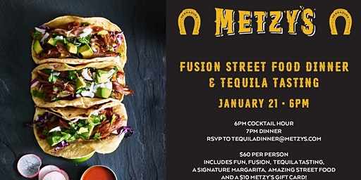 "Metzy's ""Fusion Street Food"" Tequila Dinner Hosted by Chris Lee"