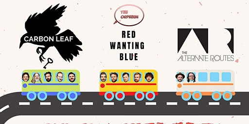 Red Wanting Blue, Carbon Leaf & The Alternate Routes @ The Orpheum